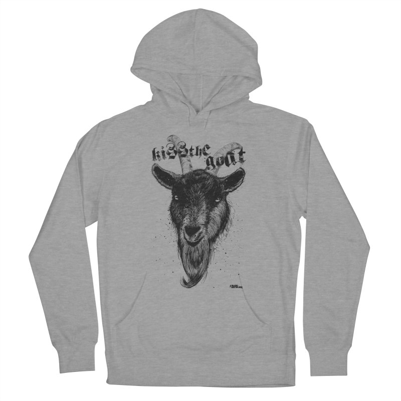 Kiss The Goat Men's Pullover Hoody by ROCK ARTWORK | T-shirts & apparels