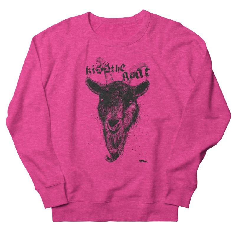 Kiss The Goat Women's Sweatshirt by ROCK ARTWORK   T-shirts & apparels