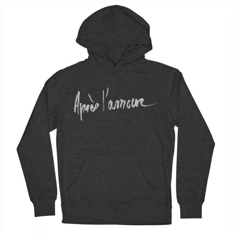 après l'amour Men's French Terry Pullover Hoody by ROCK ARTWORK | T-shirts & apparels