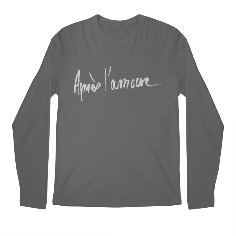 après l'amour Men's Regular Longsleeve T-Shirt by ROCK ARTWORK | T-shirts & apparels