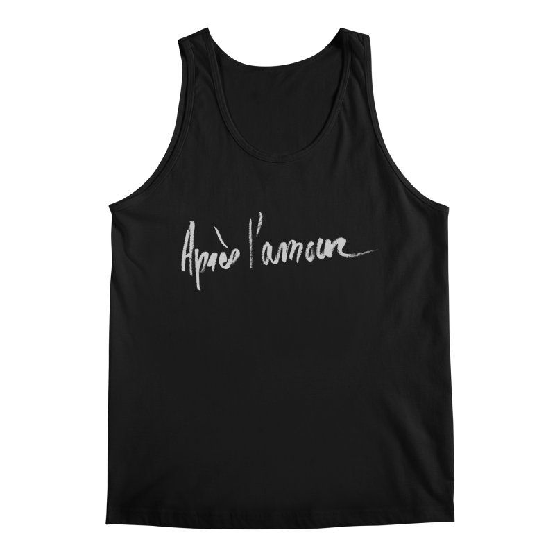 après l'amour Men's Regular Tank by ROCK ARTWORK | T-shirts & apparels