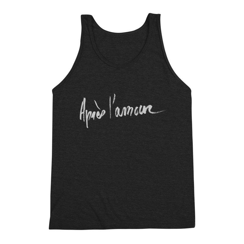 après l'amour Men's Triblend Tank by ROCK ARTWORK   T-shirts & apparels