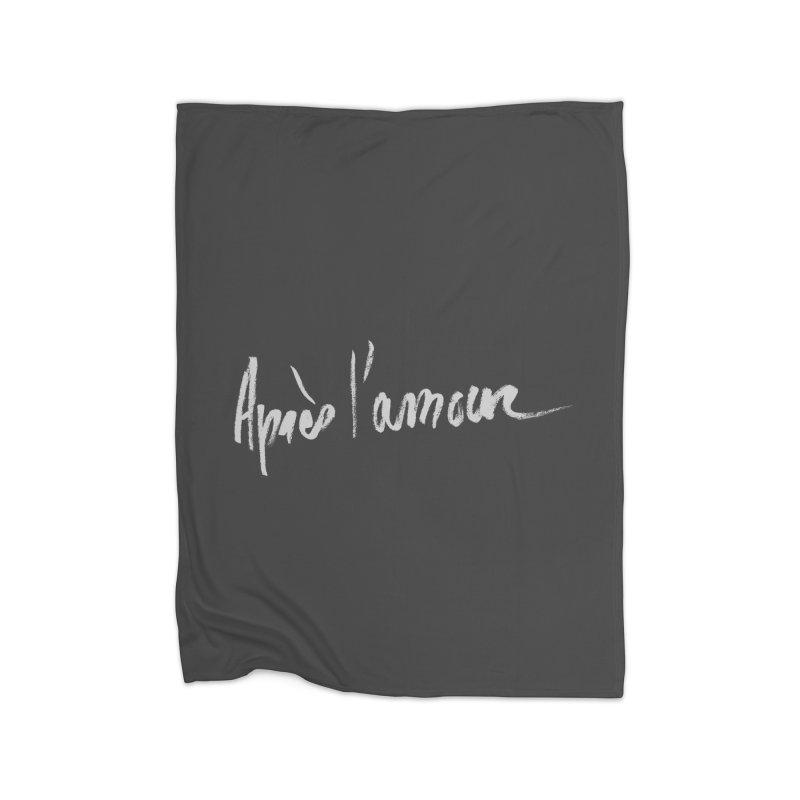 après l'amour Home Blanket by ROCK ARTWORK | T-shirts & apparels
