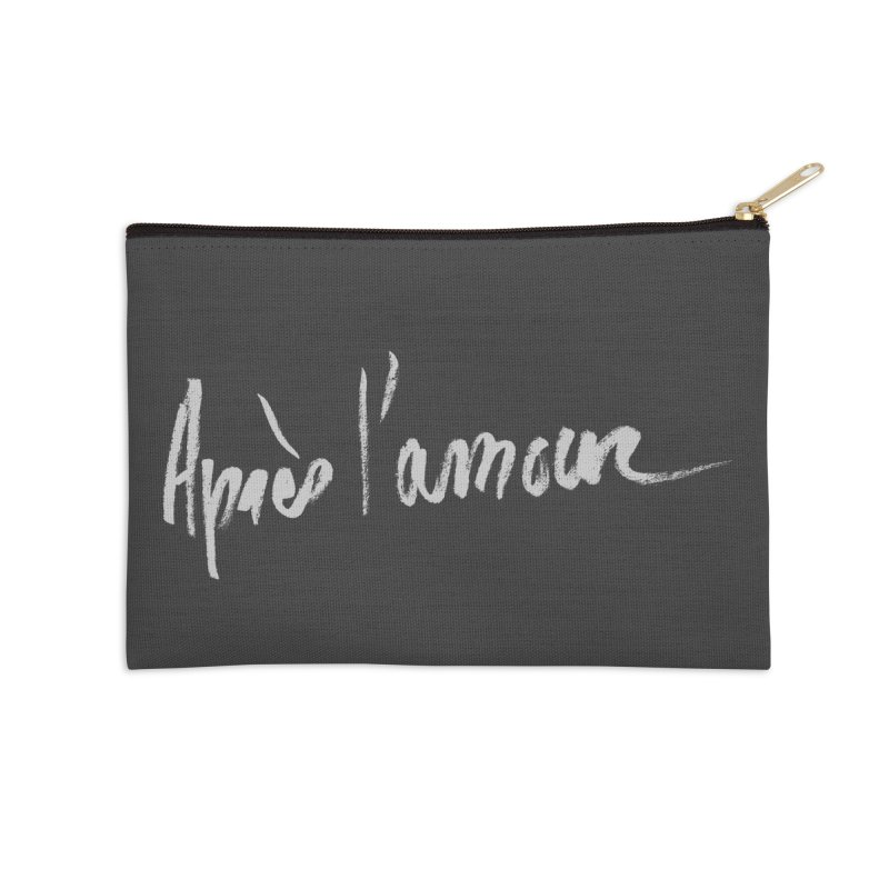 après l'amour Accessories Zip Pouch by ROCK ARTWORK | T-shirts & apparels