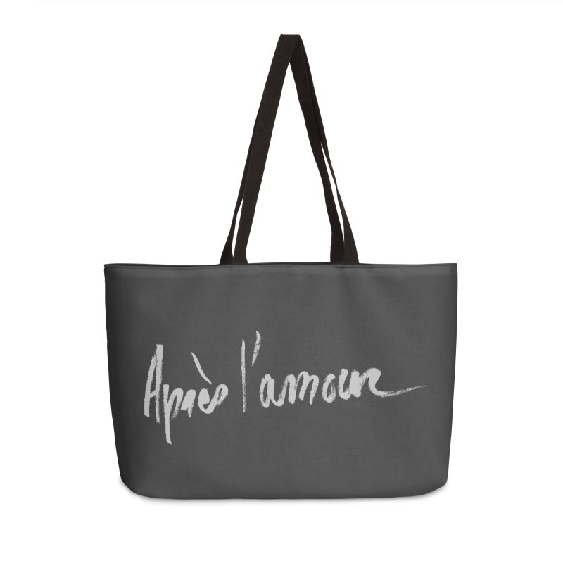après l'amour Accessories Weekender Bag Bag by ROCK ARTWORK | T-shirts & apparels