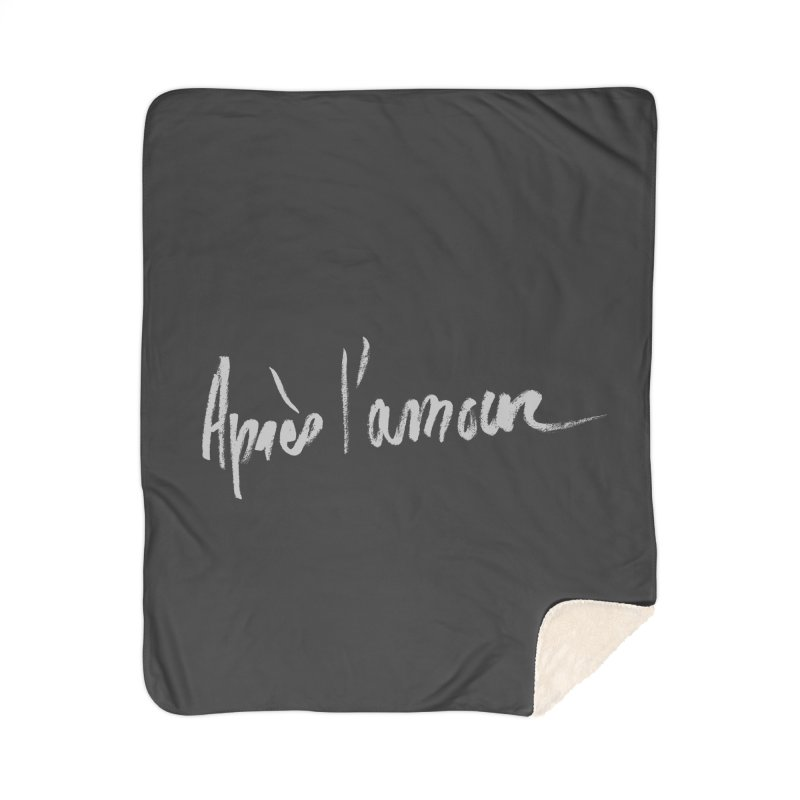 après l'amour Home Sherpa Blanket Blanket by ROCK ARTWORK | T-shirts & apparels