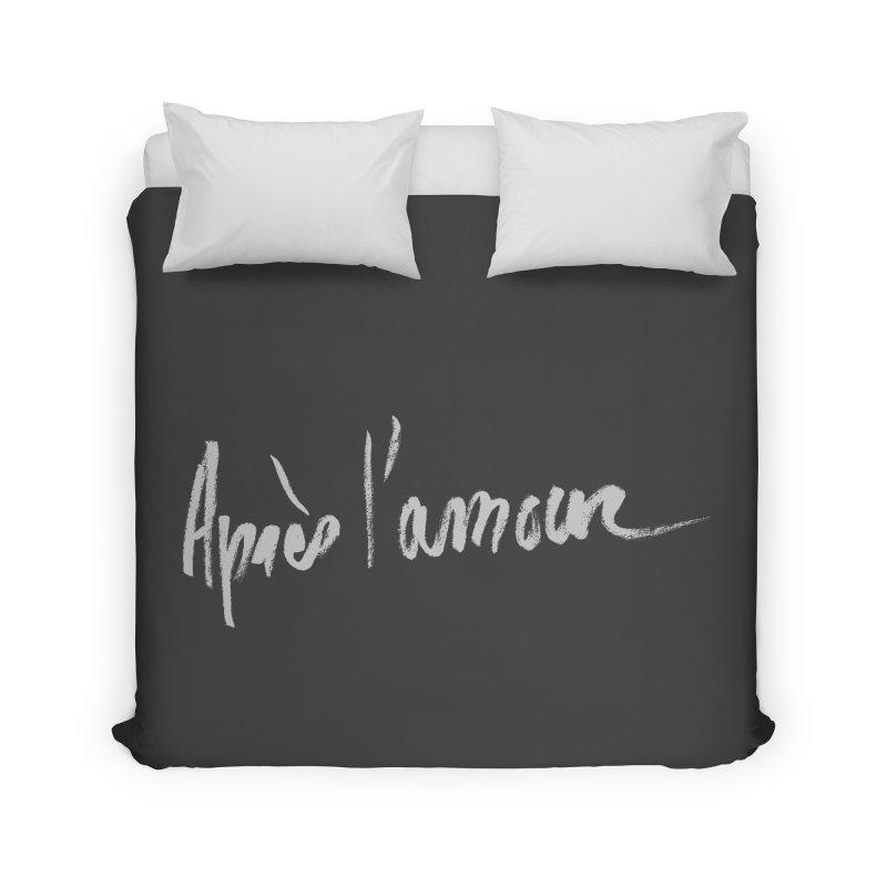 après l'amour Home Duvet by ROCK ARTWORK | T-shirts & apparels