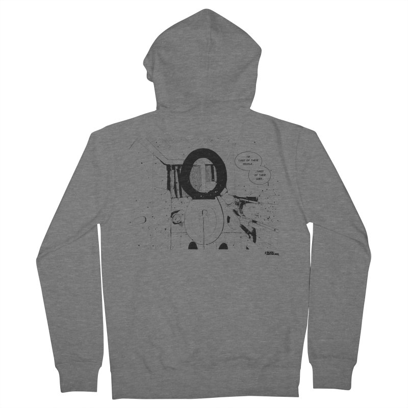 PISSED OFF ! Men's French Terry Zip-Up Hoody by ROCK ARTWORK | T-shirts & apparels