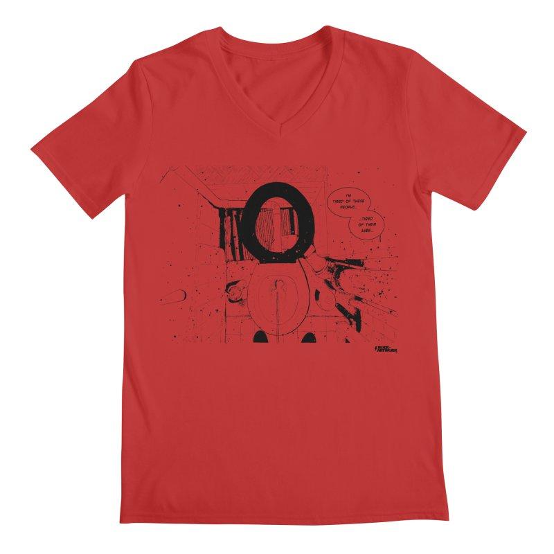 PISSED OFF ! Men's V-Neck by ROCK ARTWORK | T-shirts & apparels