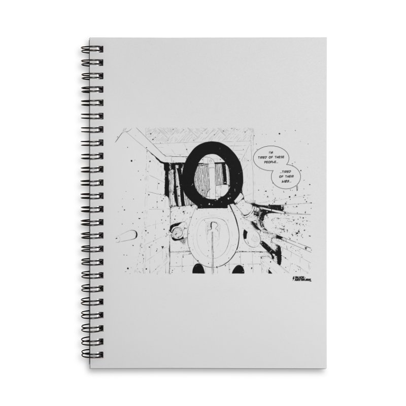 PISSED OFF ! Accessories Lined Spiral Notebook by ROCK ARTWORK | T-shirts & apparels