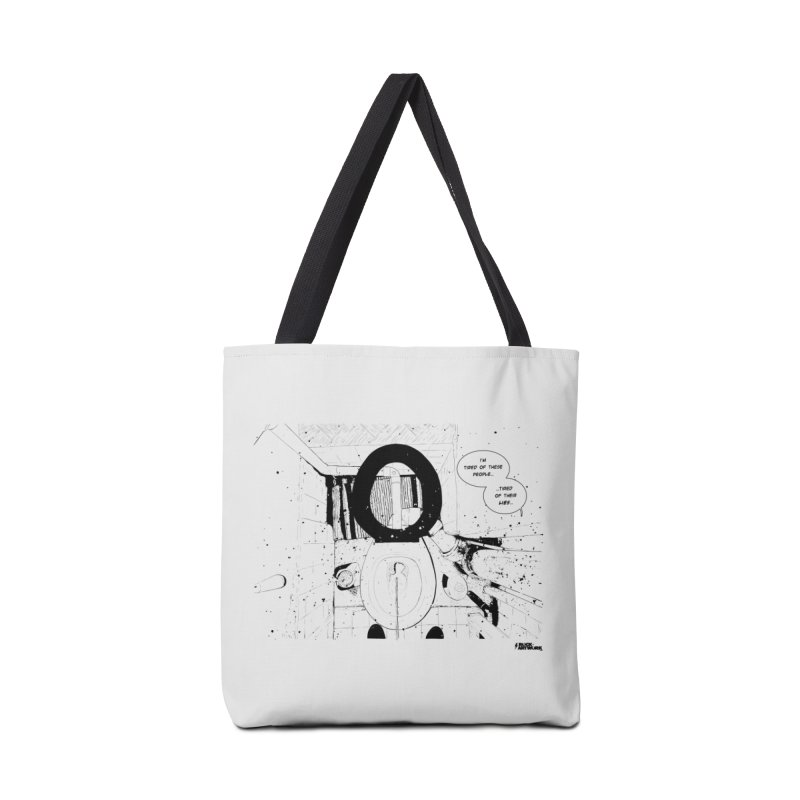 PISSED OFF ! Accessories Tote Bag Bag by ROCK ARTWORK | T-shirts & apparels