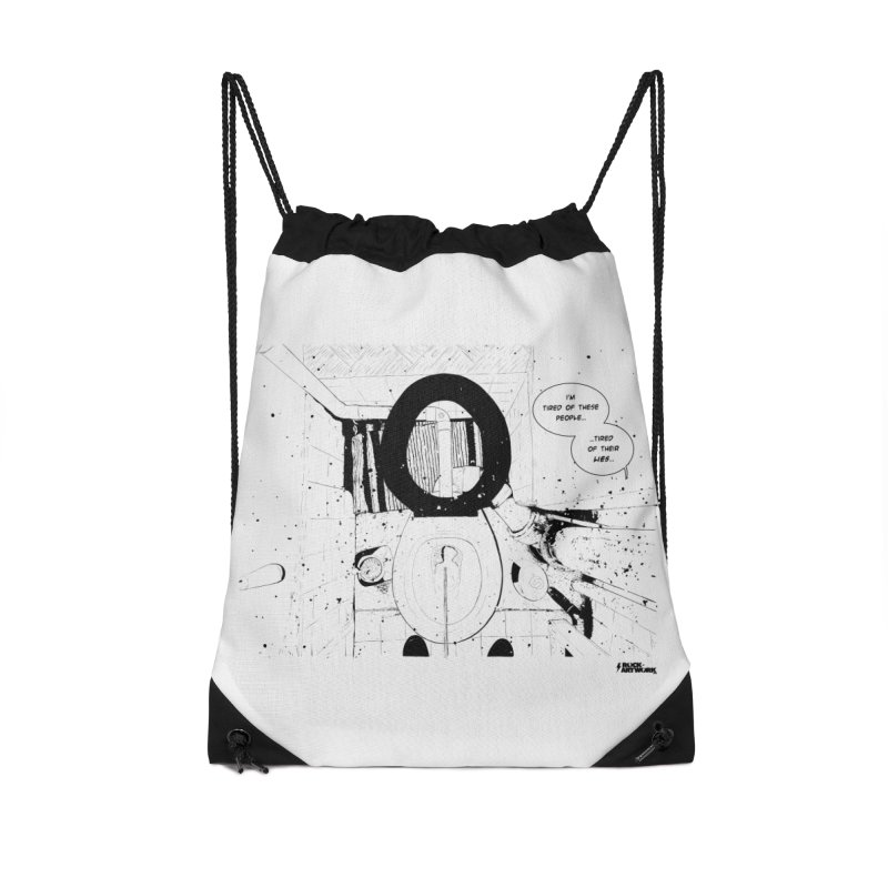 PISSED OFF ! Accessories Drawstring Bag Bag by ROCK ARTWORK | T-shirts & apparels