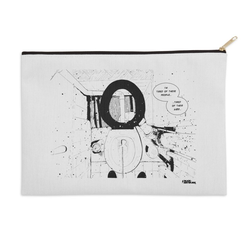 PISSED OFF ! Accessories Zip Pouch by ROCK ARTWORK | T-shirts & apparels