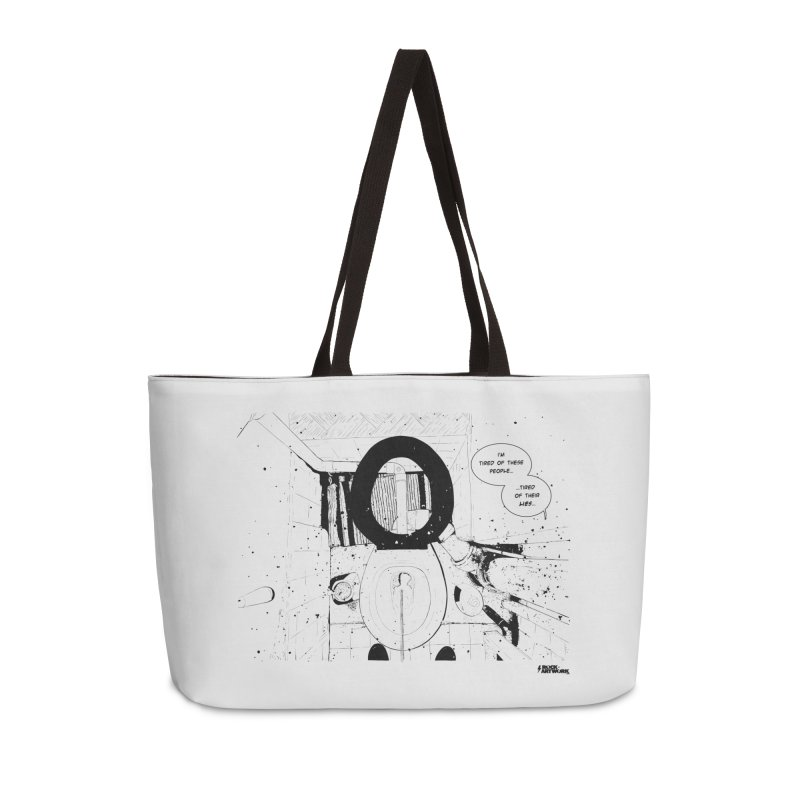 PISSED OFF ! Accessories Weekender Bag Bag by ROCK ARTWORK | T-shirts & apparels