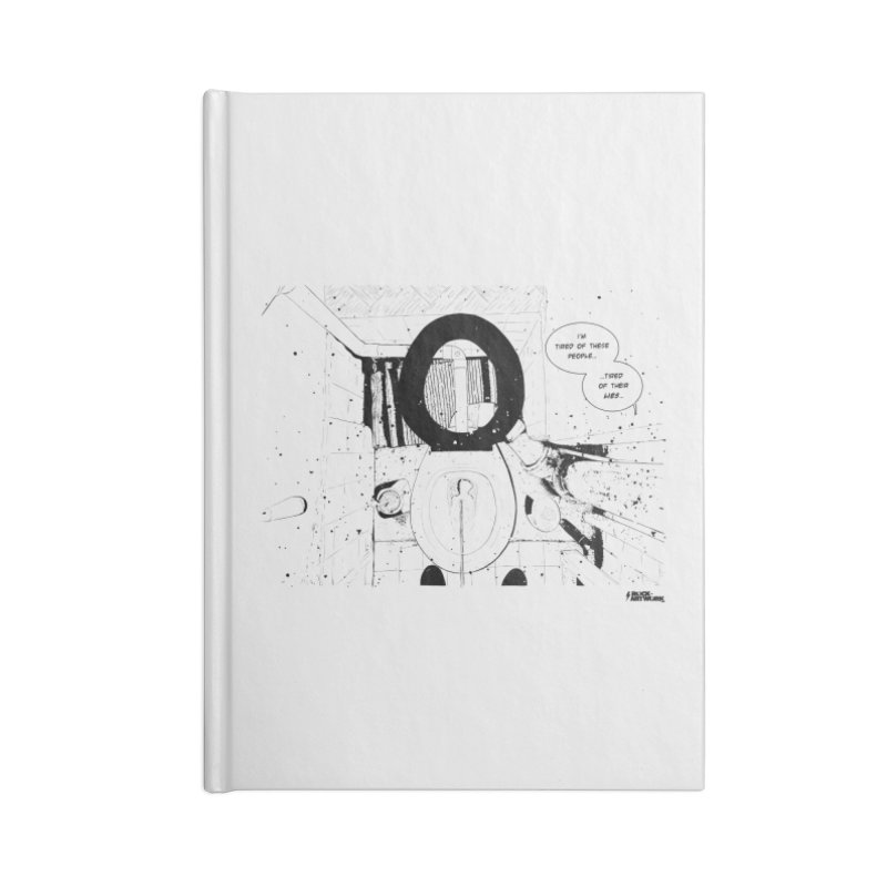 PISSED OFF ! Accessories Notebook by ROCK ARTWORK | T-shirts & apparels