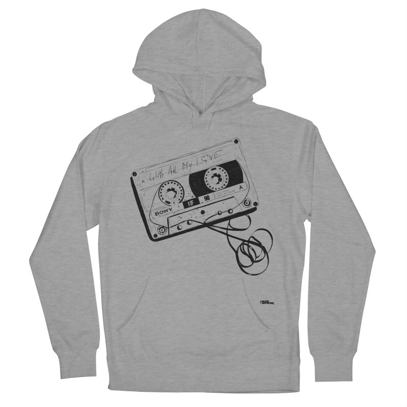 The Love Tape Men's French Terry Pullover Hoody by ROCK ARTWORK | T-shirts & apparels