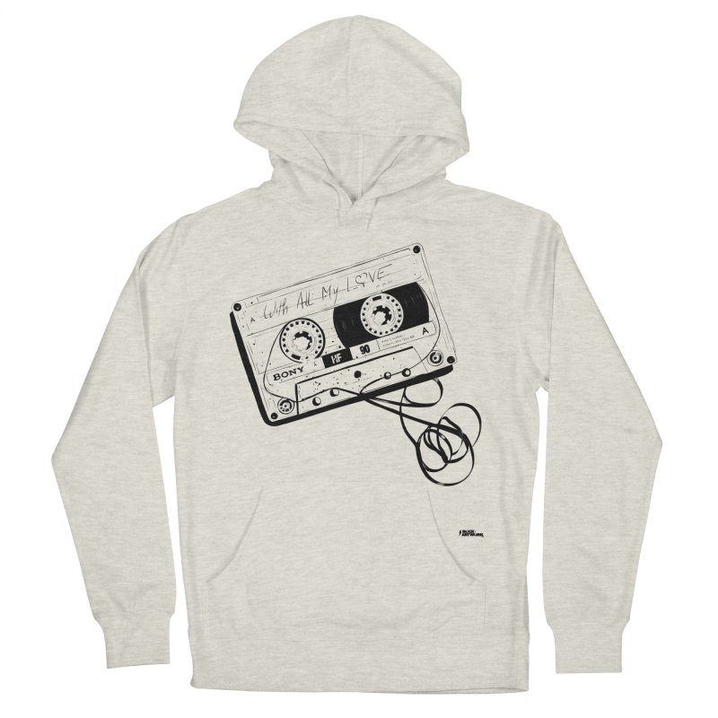 The Love Tape Men's Pullover Hoody by ROCK ARTWORK | T-shirts & apparels