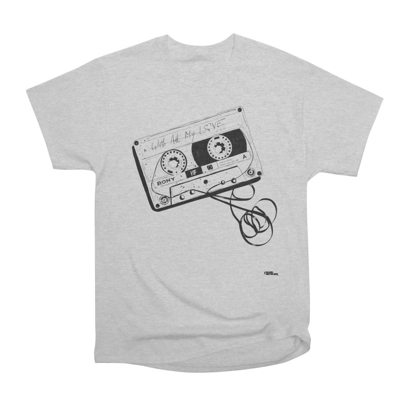 The Love Tape Men's Heavyweight T-Shirt by ROCK ARTWORK | T-shirts & apparels