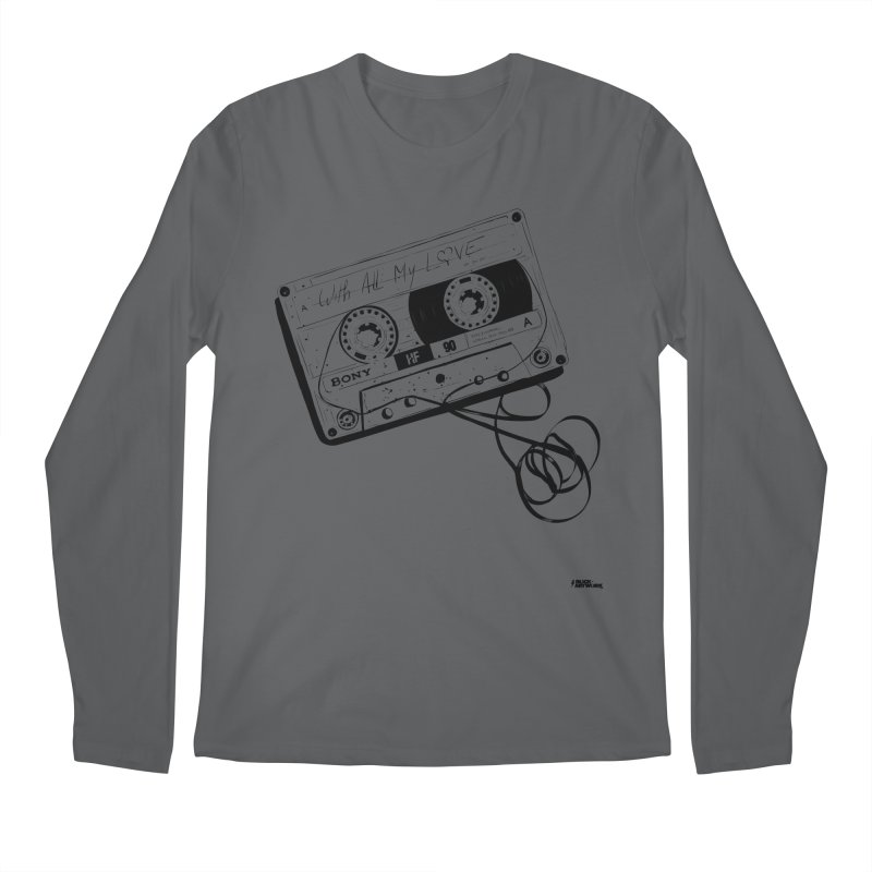 The Love Tape Men's Regular Longsleeve T-Shirt by ROCK ARTWORK | T-shirts & apparels