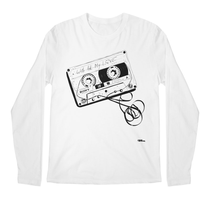 The Love Tape Men's Regular Longsleeve T-Shirt by ROCK ARTWORK | T-shirts & apparels