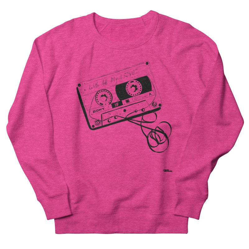 The Love Tape Women's Sweatshirt by ROCK ARTWORK | T-shirts & apparels