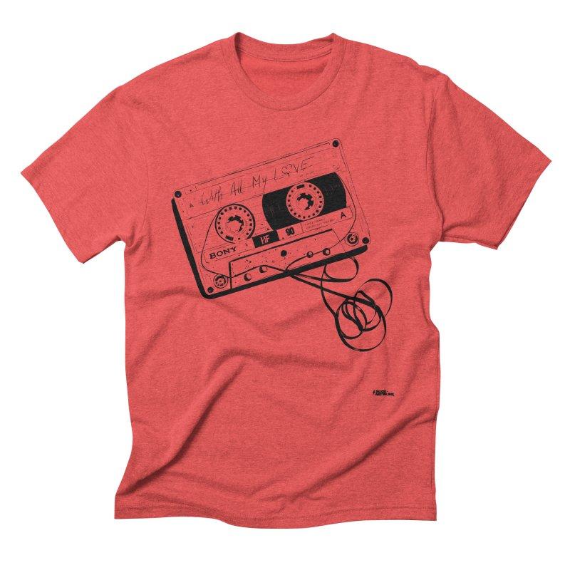 The Love Tape Men's Triblend T-shirt by ROCK ARTWORK | T-shirts & apparels