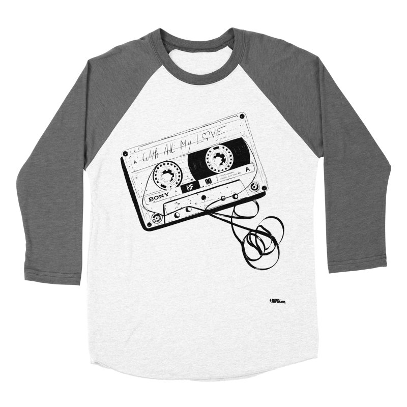 The Love Tape Men's Baseball Triblend Longsleeve T-Shirt by ROCK ARTWORK | T-shirts & apparels