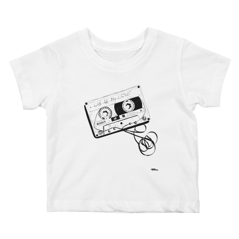 The Love Tape Kids Baby T-Shirt by ROCK ARTWORK | T-shirts & apparels