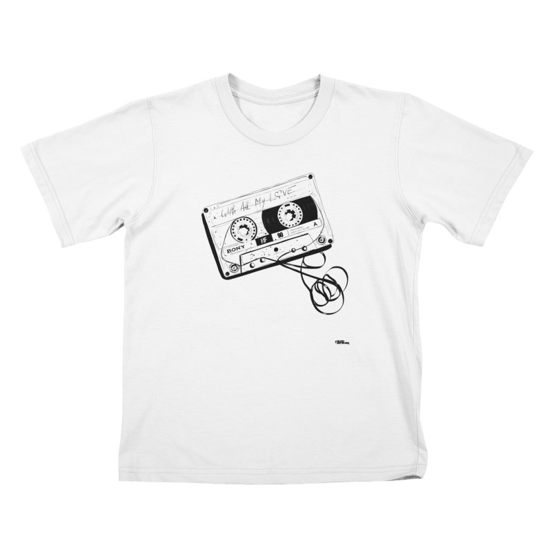 The Love Tape Kids T-Shirt by ROCK ARTWORK | T-shirts & apparels