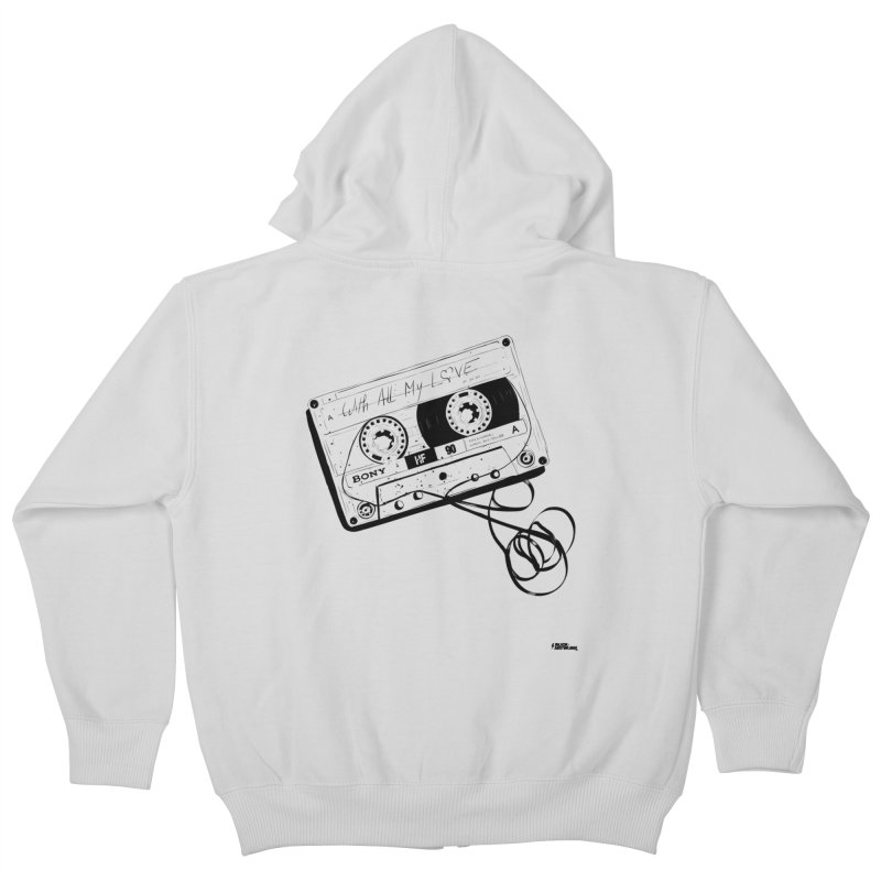 The Love Tape Kids Zip-Up Hoody by ROCK ARTWORK   T-shirts & apparels