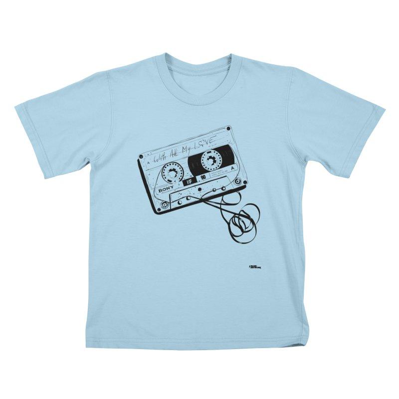The Love Tape Kids T-shirt by ROCK ARTWORK | T-shirts & apparels