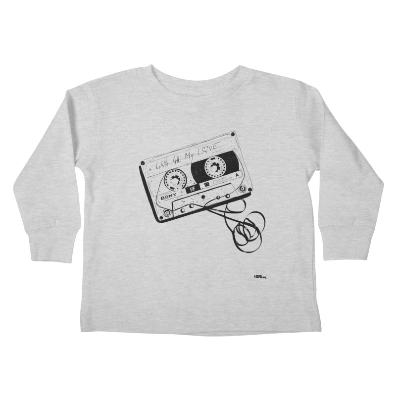 The Love Tape Kids Toddler Longsleeve T-Shirt by ROCK ARTWORK | T-shirts & apparels