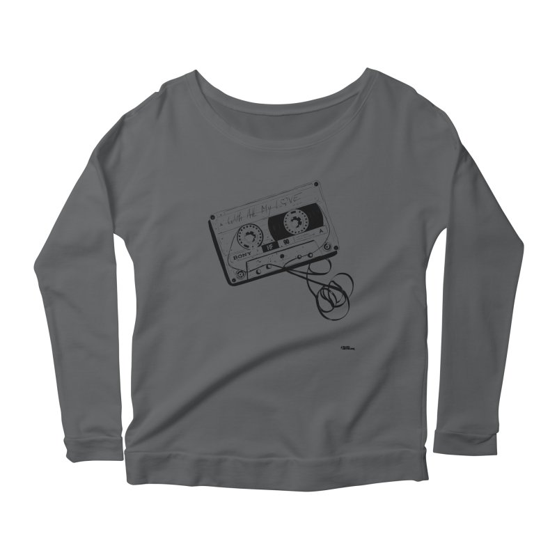 The Love Tape Women's Longsleeve T-Shirt by ROCK ARTWORK | T-shirts & apparels