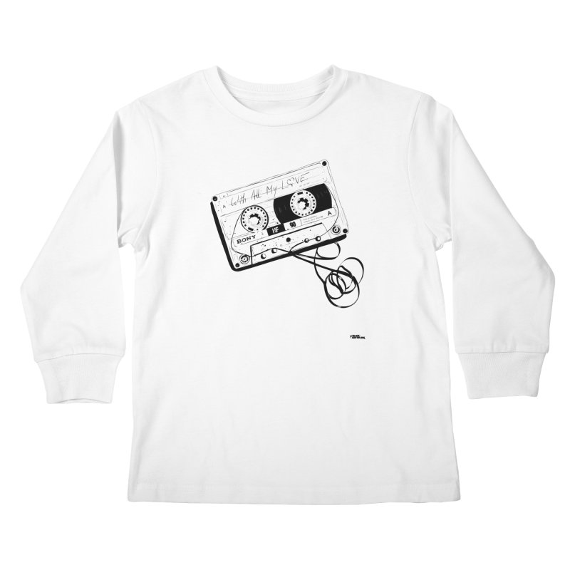 The Love Tape Kids Longsleeve T-Shirt by ROCK ARTWORK | T-shirts & apparels