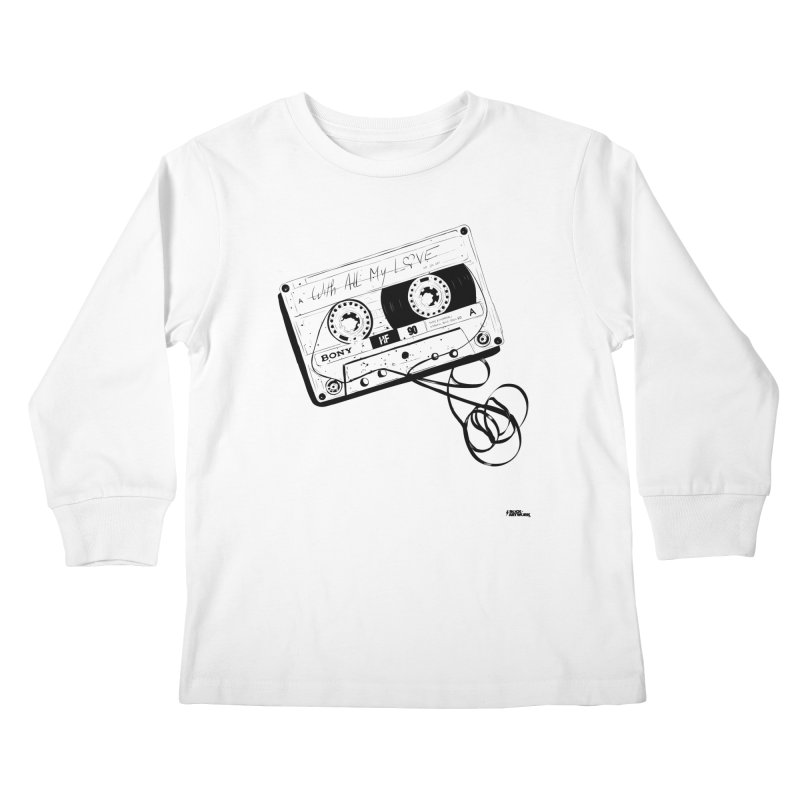 The Love Tape Kids Longsleeve T-Shirt by ROCK ARTWORK | T-shirts & apparels