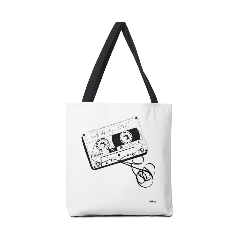 The Love Tape Accessories Tote Bag Bag by ROCK ARTWORK | T-shirts & apparels