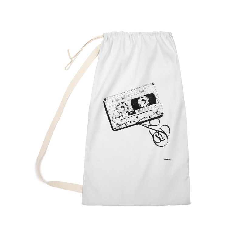The Love Tape Accessories Laundry Bag Bag by ROCK ARTWORK | T-shirts & apparels