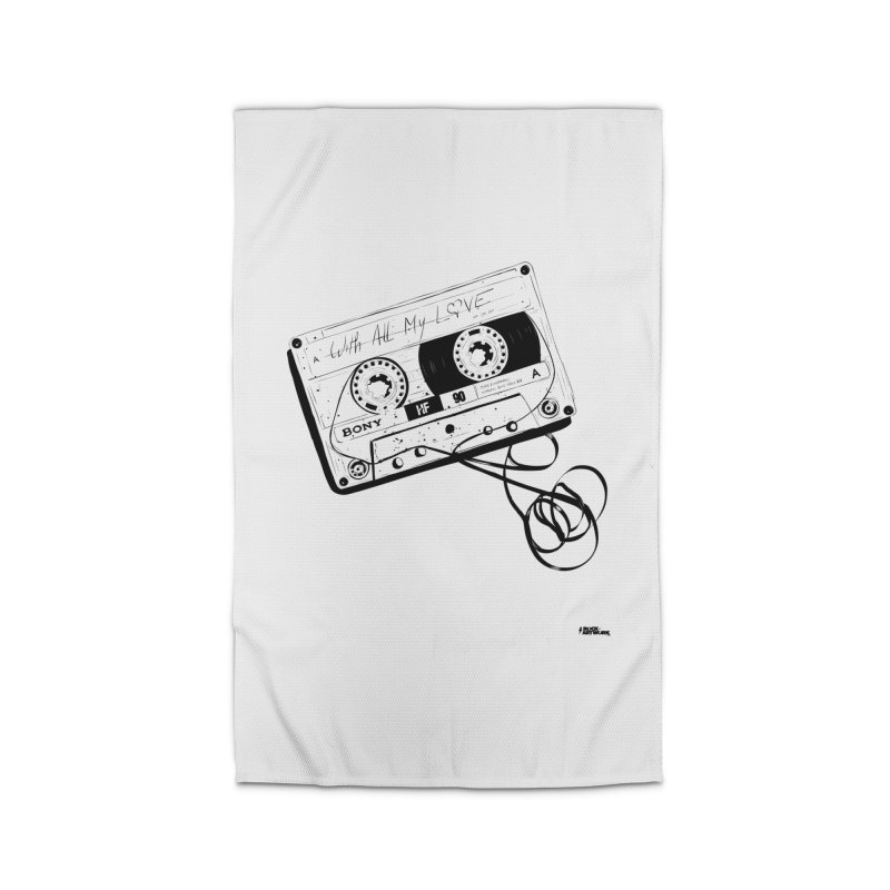 The Love Tape Home Rug by ROCK ARTWORK | T-shirts & apparels