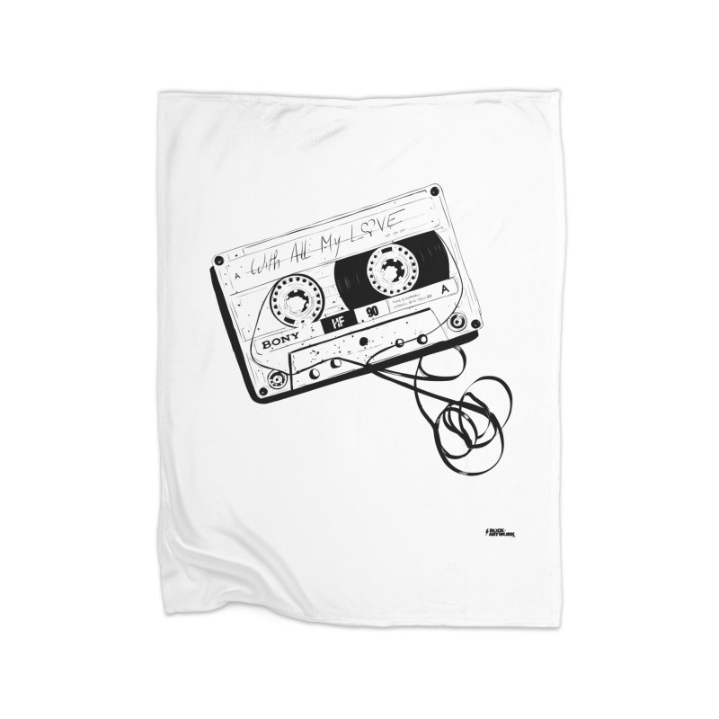 The Love Tape Home Blanket by ROCK ARTWORK | T-shirts & apparels