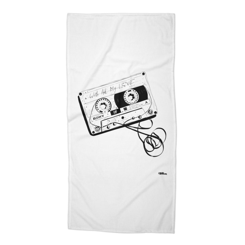 The Love Tape Accessories Beach Towel by ROCK ARTWORK | T-shirts & apparels