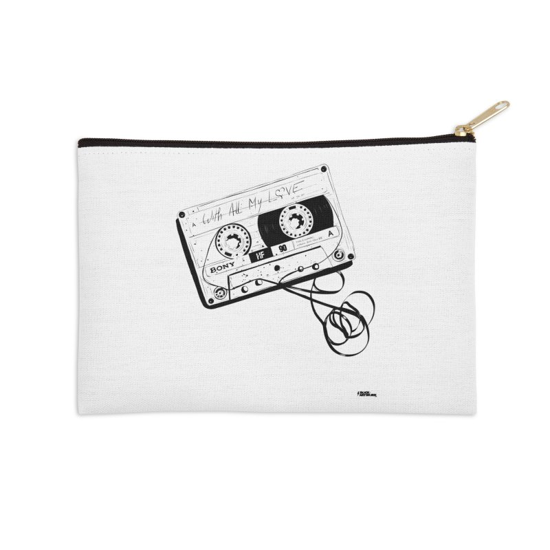 The Love Tape Accessories Zip Pouch by ROCK ARTWORK | T-shirts & apparels