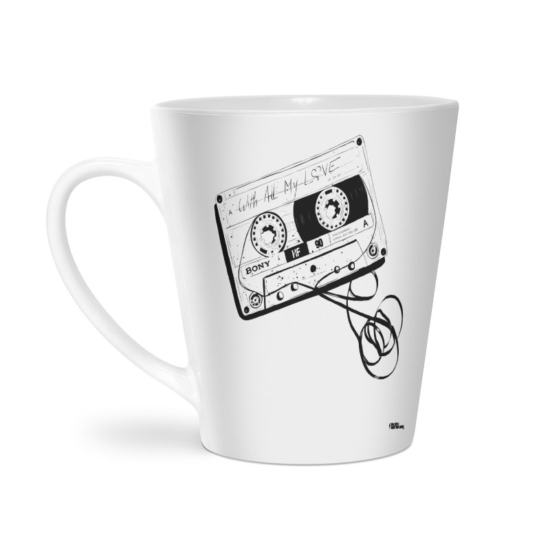 The Love Tape Accessories Latte Mug by ROCK ARTWORK | T-shirts & apparels