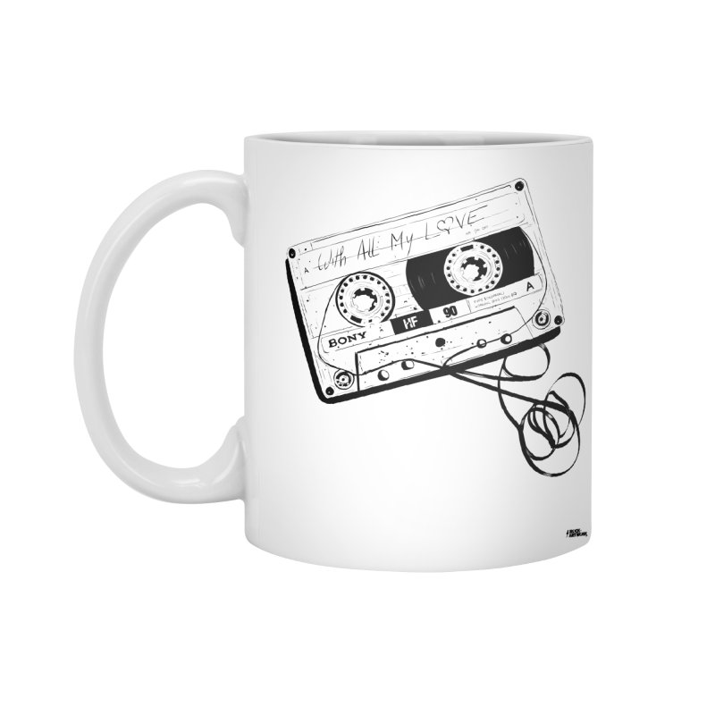 The Love Tape Accessories Mug by ROCK ARTWORK | T-shirts & apparels