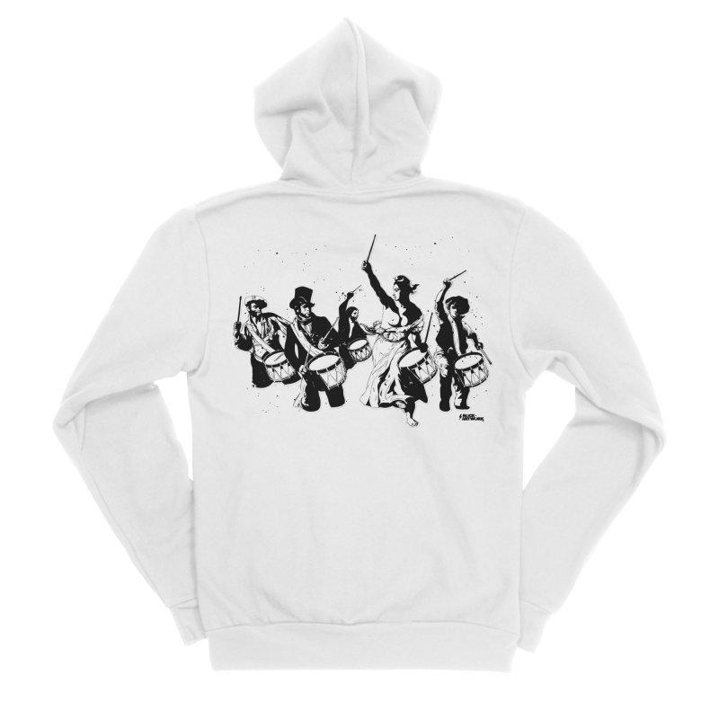 the new revolution Men's Sponge Fleece Zip-Up Hoody by ROCK ARTWORK | T-shirts & apparels