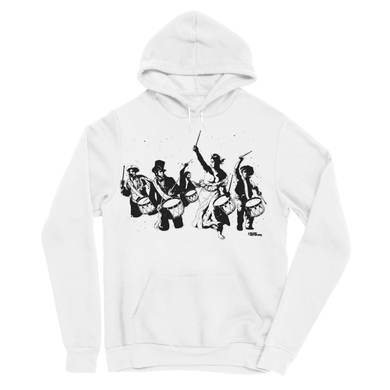 the new revolution Men's Sponge Fleece Pullover Hoody by ROCK ARTWORK | T-shirts & apparels