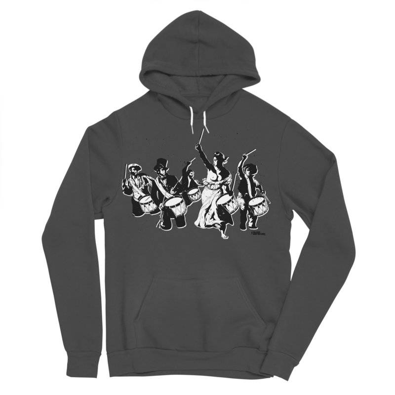 the new revolution Men's Sponge Fleece Pullover Hoody by ROCK ARTWORK | T-shirts & apparels