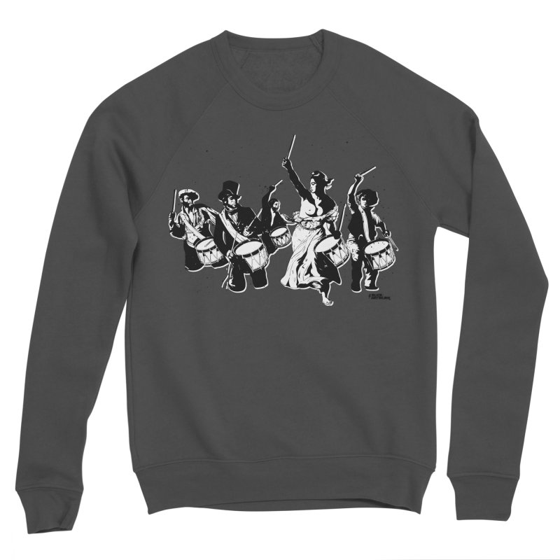 the new revolution Men's Sponge Fleece Sweatshirt by ROCK ARTWORK | T-shirts & apparels