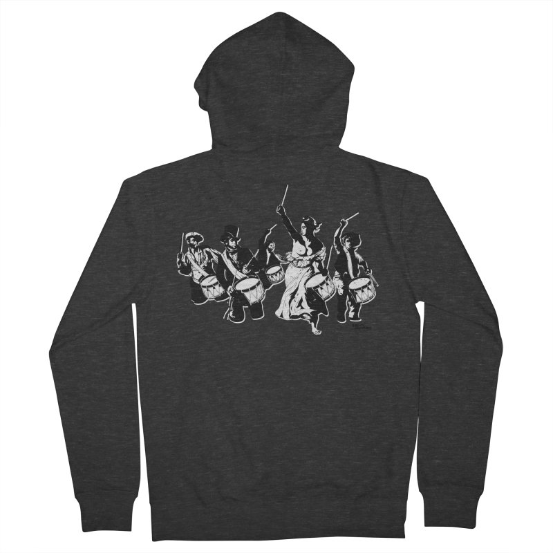 the new revolution Women's French Terry Zip-Up Hoody by ROCK ARTWORK | T-shirts & apparels
