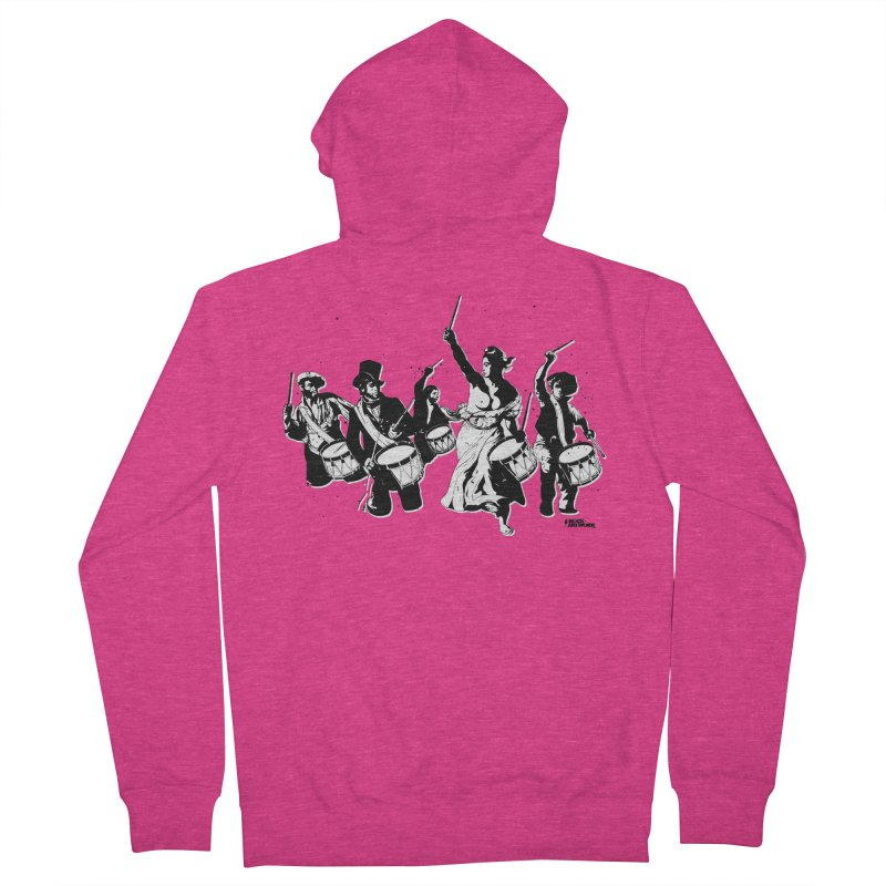 the new revolution Women's Zip-Up Hoody by ROCK ARTWORK | T-shirts & apparels