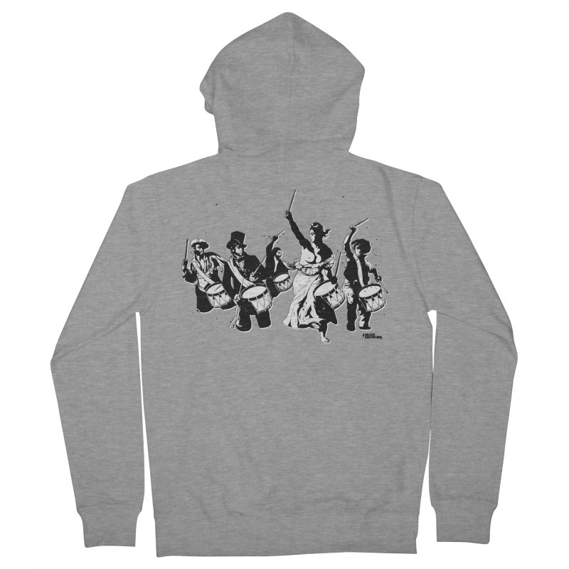 the new revolution Men's French Terry Zip-Up Hoody by ROCK ARTWORK | T-shirts & apparels